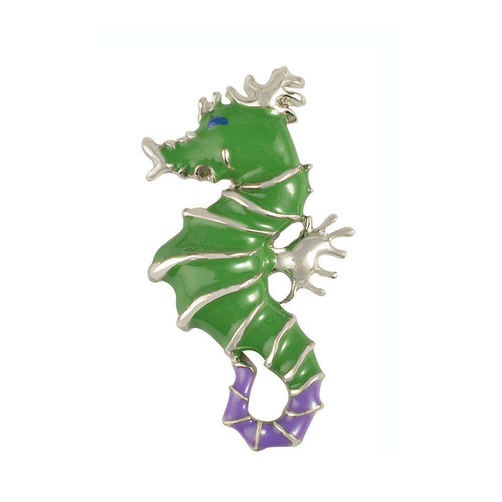 Best Seahorse Animal Brooch for Men