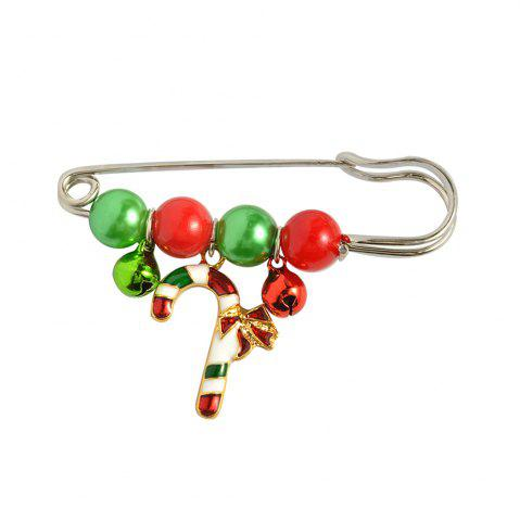 Store X'mas Brooch Pins Santa Charm Pendants Christmas Gift Stick Drop Men Women Jewelry