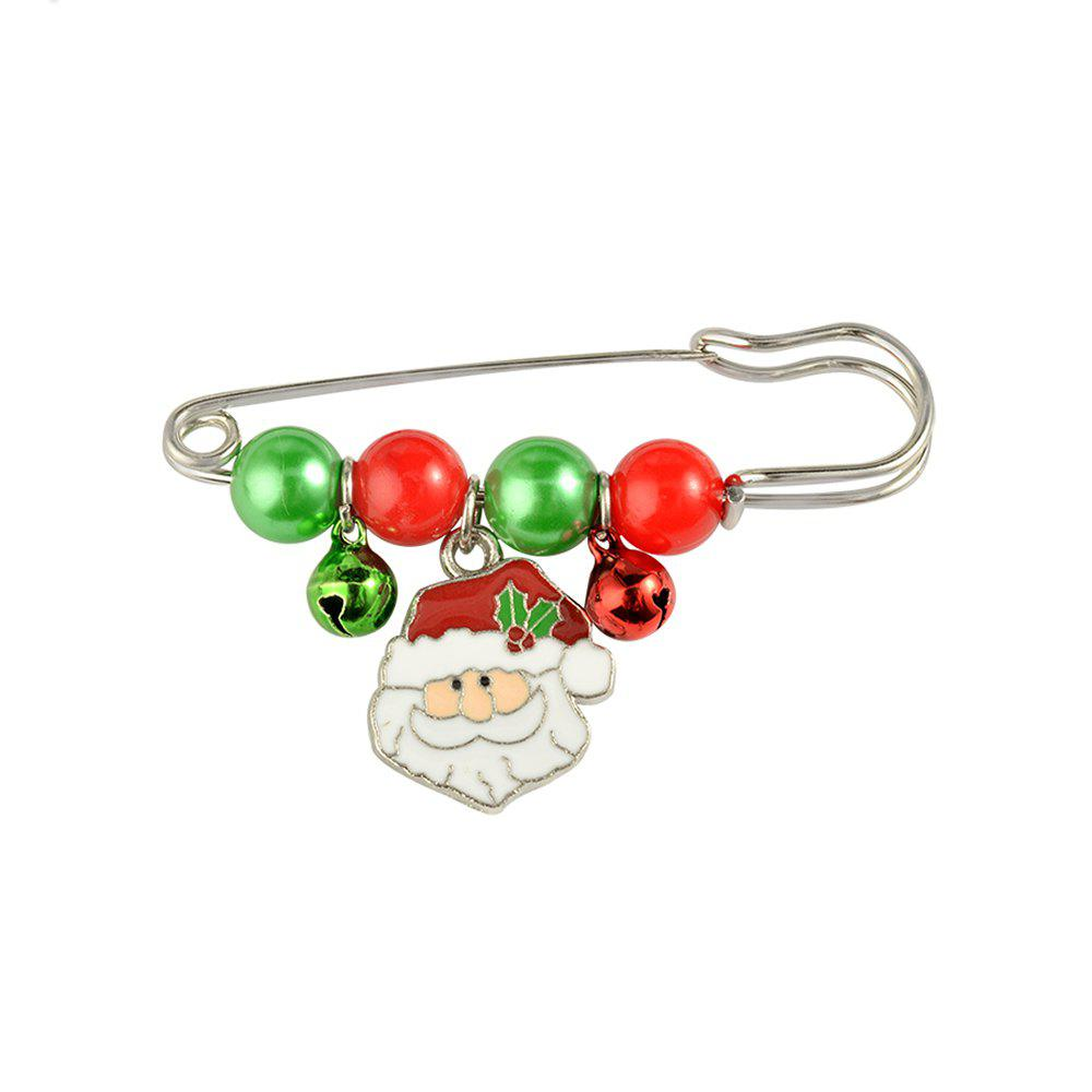 Best X'mas Brooch Pins Santa Charm Pendants Christmas Gift Stick Drop Men Women Jewelry
