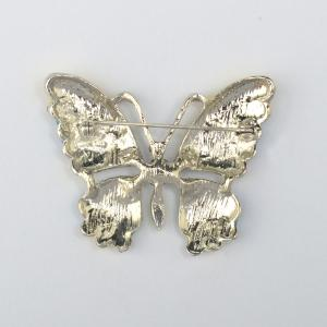 Vintage Jewelry Large Enamel Butterfly Brooches Brooch Wedding Brooch Insect Hijab Pin Brooches For Women And Girl -