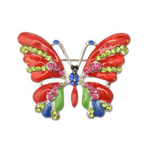 Shop Vintage Jewelry Large Enamel Butterfly Brooches Brooch Wedding Brooch Insect Hijab Pin Brooches For Women And Girl