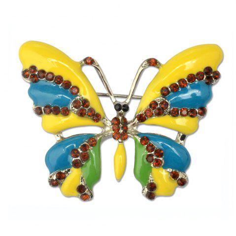 Discount Vintage Jewelry Large Enamel Butterfly Brooches Brooch Wedding Brooch Insect Hijab Pin Brooches For Women And Girl
