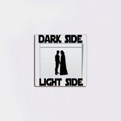 Dark Side Switch Sticker Vinyl Wall Sticker Home Decor -