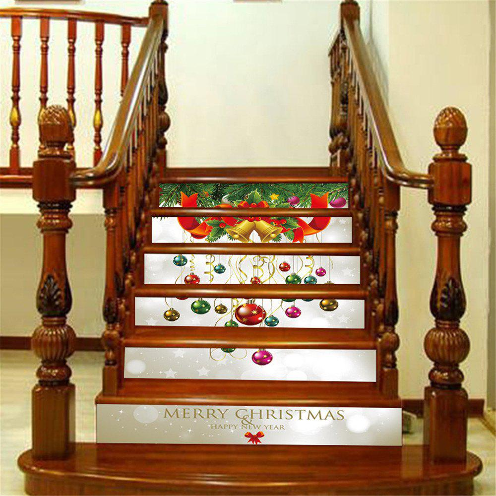 Latest ZB013 Personalized Christmas 3D Self-Adhesive Painting Decoration Home Drawing Living Room Stairs Sticker