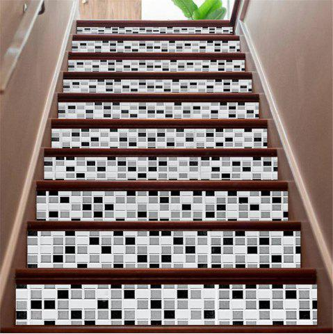 Hot ZB16 Creative Corridor 3d Mosaic Decorative Wall Sticker Staircase Sticker