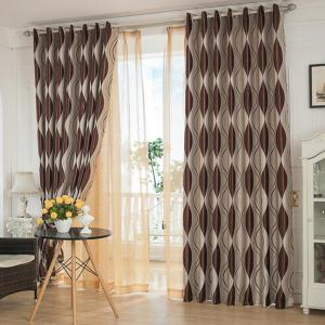 Shading jacquard curtain  The bedroom curtains Velvet curtain -