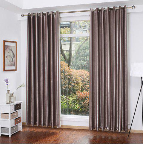 Affordable Shading Stripe Curtain  Bedroom Living Room Curtain