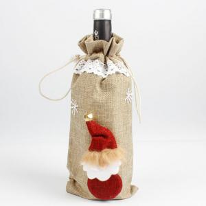 New Christmas Eve Restaurant Wine Bottle Set -