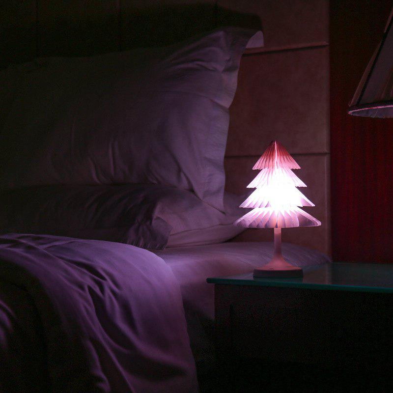 Store JUEJA Christmas Tree Desk Lamp USB Colorful LED Touch Control Night Light Xmas New Year Gift