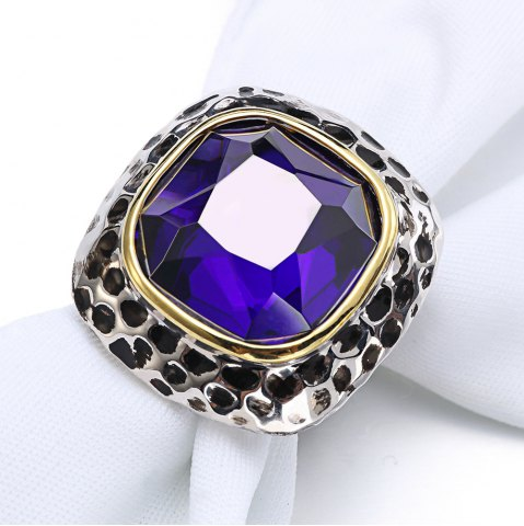 Shops Fashion Plated Rhodium Color Zircon Luxury Rings