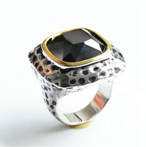 Outfits Fashion Plated Rhodium Color Zircon Luxury Rings