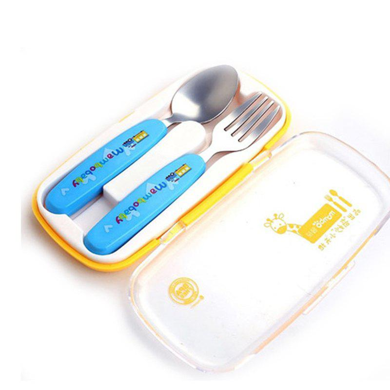 Shop baby stainless steel anti-scalding spoons two-piece