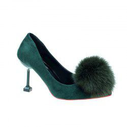 YL-218 Pointed Muzzle Foot Heels Shallow -