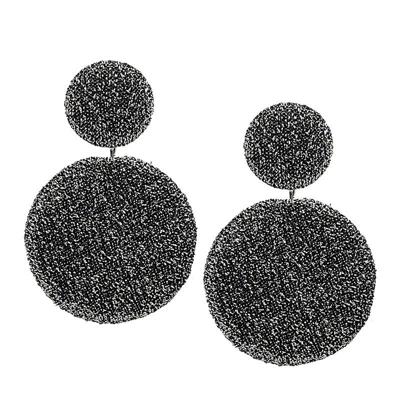 Sale Simple Geometric Round Earrings