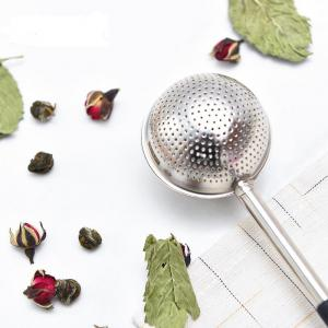 Stainless Steel Tea Strainer Creative Drainer Net With Handle Tea Ball Infuser Filter Spoon -