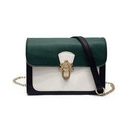 Simple New Joker Chain Bag Contrast Color Cross-body Bag -