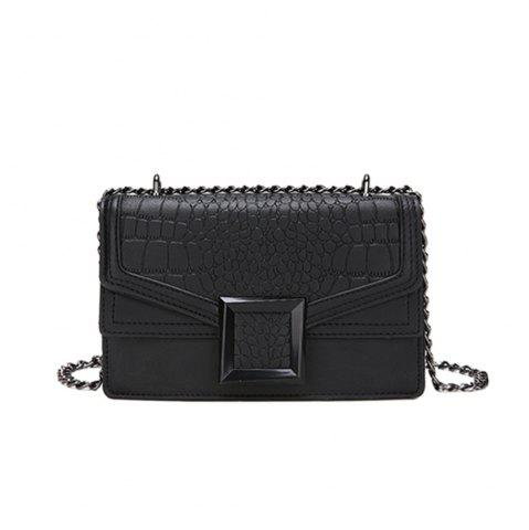 Fashion new Fashion Handbag Simple Crocodile Pattern Shoulder Messenger Bag
