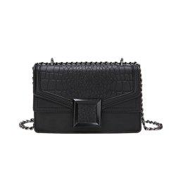 new Fashion Handbag Simple Crocodile Pattern Shoulder Messenger Bag -