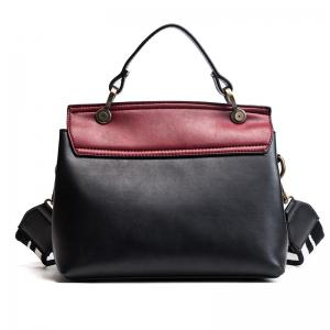 Fashion Trendy Handbag Female Trendy Wild Messenger Bag Spell Color Package 2018 New Female Bag -