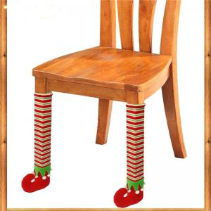 New Christmas gift bag Chair Leg Cover -
