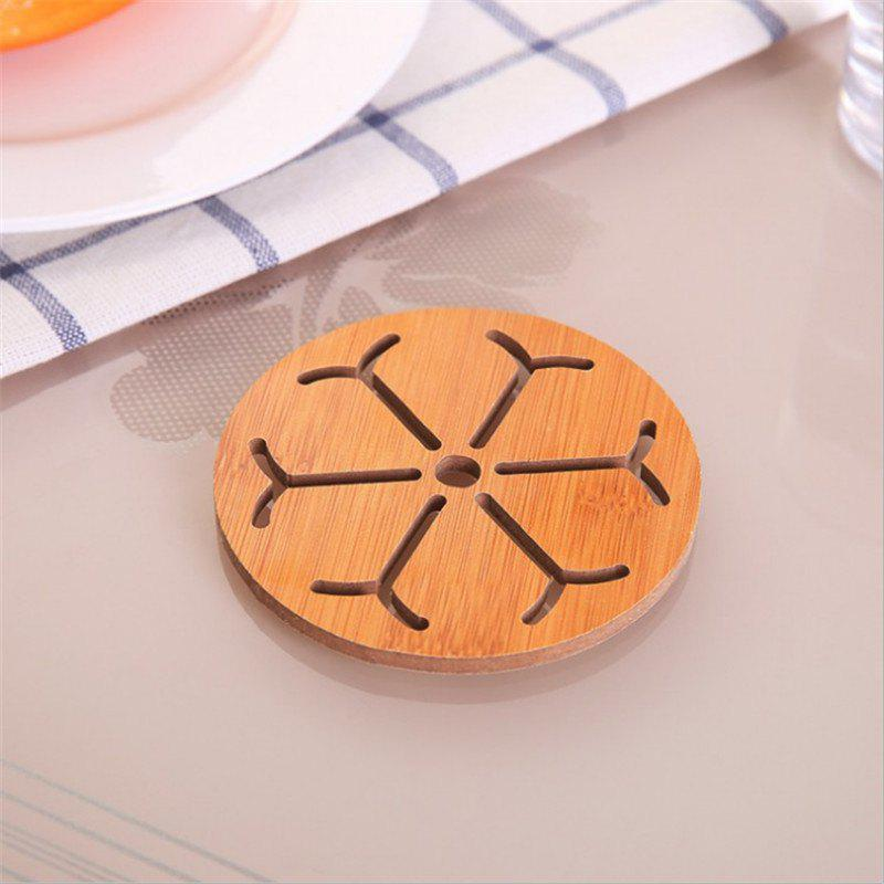 Trendy Wood insulation pad solid wood perm pad