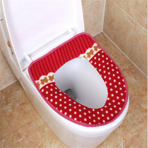 Hot Corduroy toilet cushion in winter