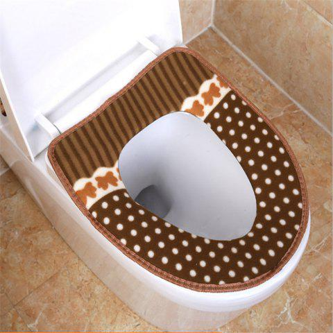 Fashion Corduroy toilet cushion in winter