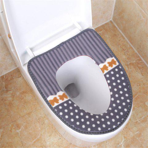 Affordable Corduroy toilet cushion in winter