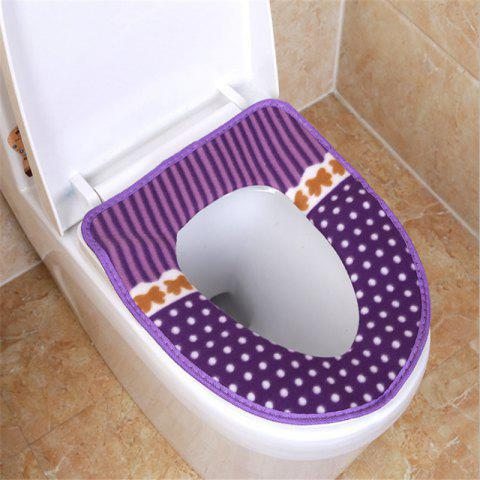 Store Corduroy toilet cushion in winter