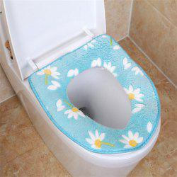 A toilet seat cushion and a toilet cushion in winter -