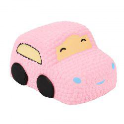 Slow Rising Squishy Car Cake Jumbo Big Strawberry Scented Cartoon Toy -