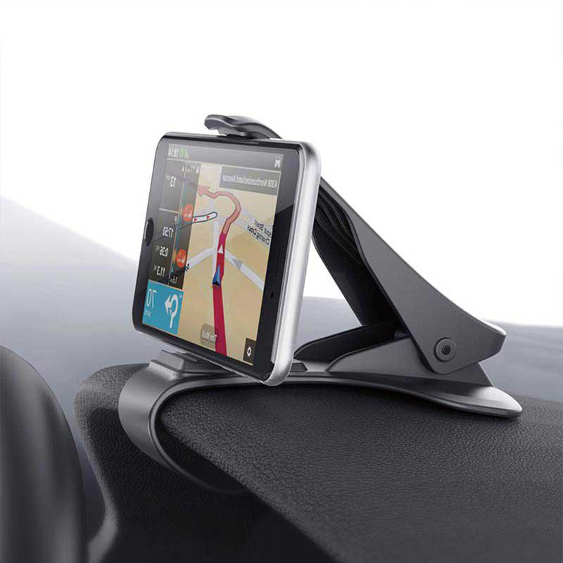 noir support pour t l phone portable gps fixer sur le tableau de bord de la voiture. Black Bedroom Furniture Sets. Home Design Ideas
