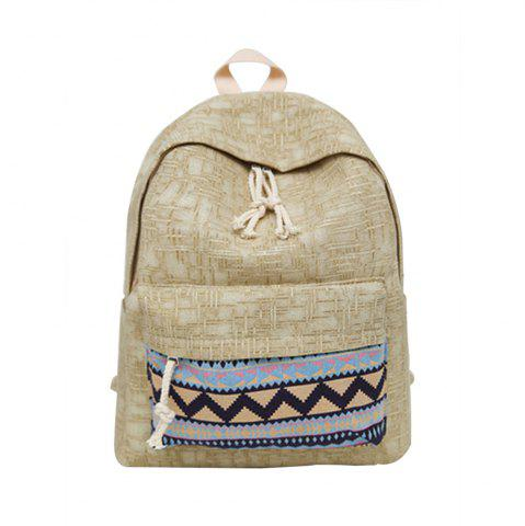 Cheap Women's Backpack Ethnic Style Patchwork Faddish All Match Bag