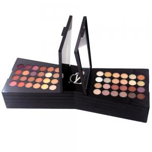 ZD F2061 132 Colors Eyeshadow Blusher Lipstick Foundation Makeup Palette With Brushes 1pc -