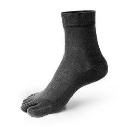New Arrivals Men Five Toes Tube Sock Anti Bacterial and Anti-odor Socks -