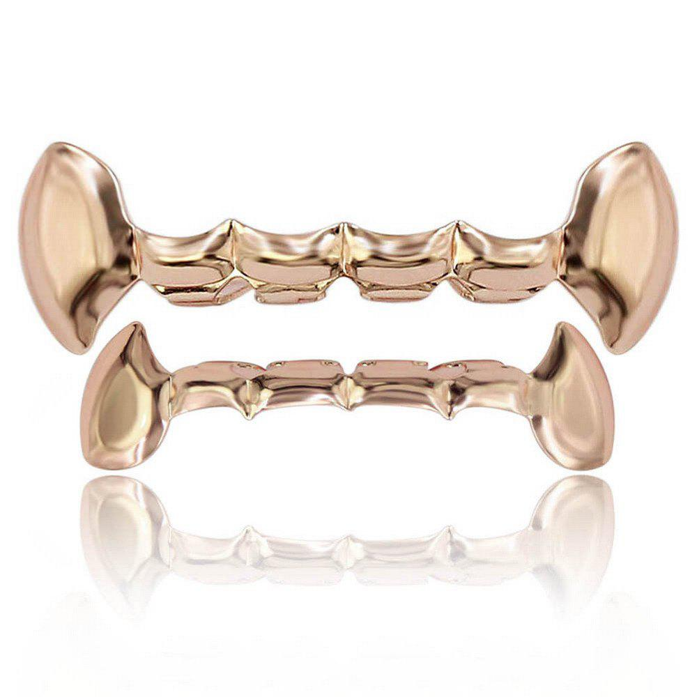 Cheap Hip Hop 18K Gold Plated Vampire Fangs Teeth Grillz