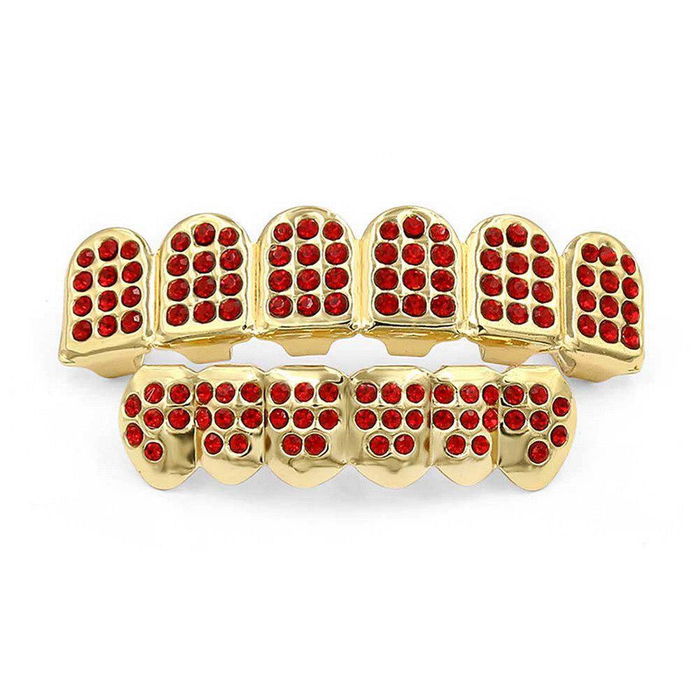 Chic Hip Hop 18K Gold Plated Gold Classic Grillz