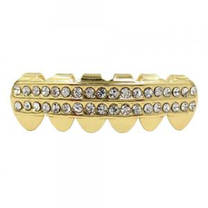 Hip Hop 18K Gold Plated Vampire Teeth Grillz -