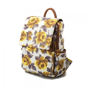 Backpack For Girls Fashion Floral Backpack Waterproof Backpack -