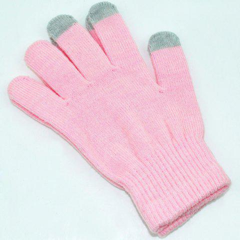 Store Cotton Knitted Touch Screen Gloves