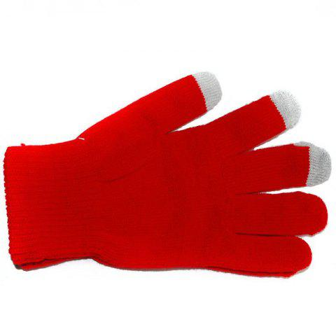 Shops Cotton Knitted Touch Screen Gloves