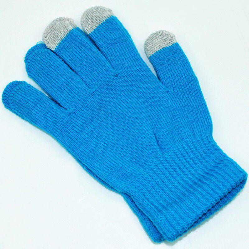 Sale Cotton Knitted Touch Screen Gloves