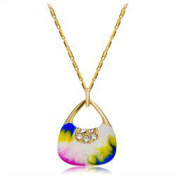 14K Gold-Plated Gilded Pendant Necklace -