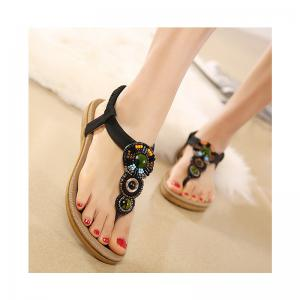 Ladies Rubber Sole Refers To Beach Sandals -