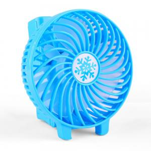 Multi-function mini usb charging fan -