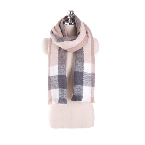 Cheap Plaid scarf like cashmere with thick warm scarf