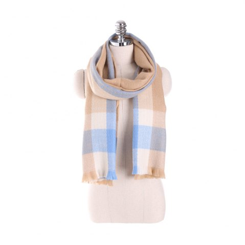 Chic Plaid scarf like cashmere with thick warm scarf