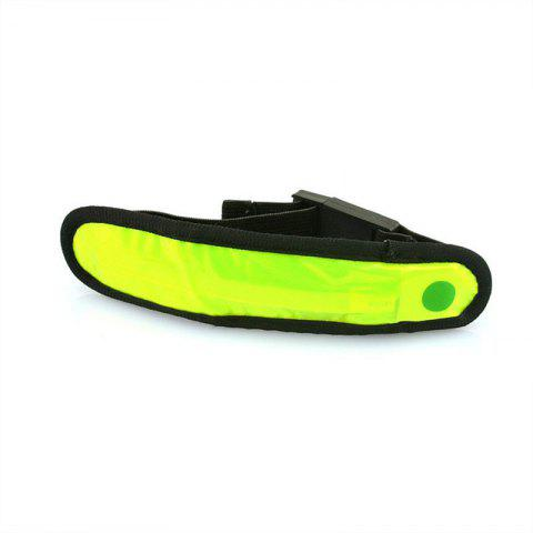 Hot LED Safety Reflective Light Shine Flash Glowing Luminous Armband Arm Belt Band Wrist Support Hand Strap Wristband