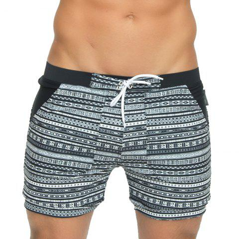 Buy Taddlee Sexy Men's Swimwear Swimsuits Long Basic Traditional Cut Swim Boxer Trunks Surf Board Shorts Bathing Suits