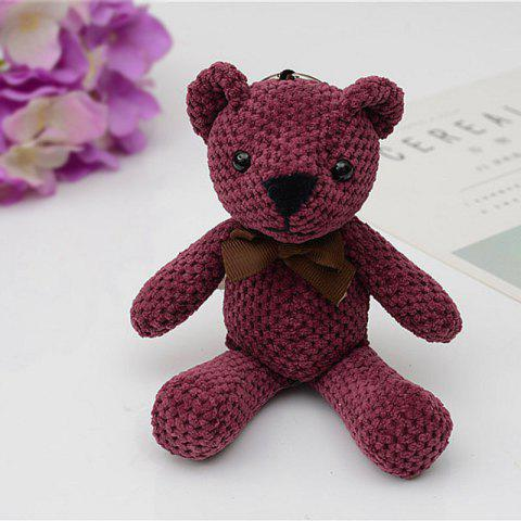 Fancy Fashionable Toy Bear Key Chain Bag Accessories